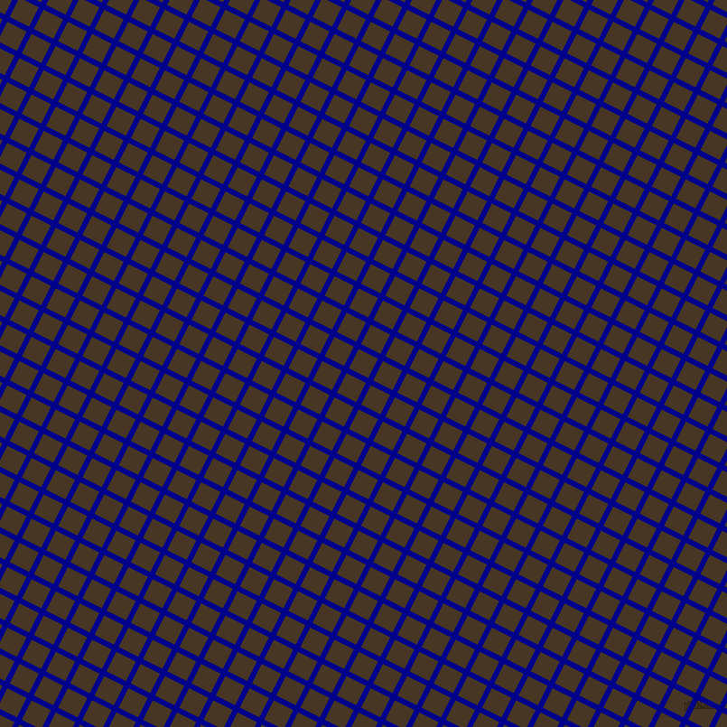 63/153 degree angle diagonal checkered chequered lines, 6 pixel lines width, 24 pixel square size, Dark Blue and Clinker plaid checkered seamless tileable