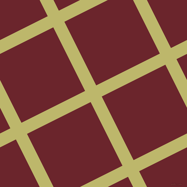 27/117 degree angle diagonal checkered chequered lines, 40 pixel line width, 229 pixel square size, Dark Khaki and Monarch plaid checkered seamless tileable
