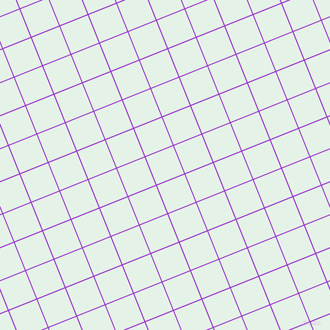 22/112 degree angle diagonal checkered chequered lines, 2 pixel lines width, 59 pixel square sizeDark Orchid and Polar plaid checkered seamless tileable