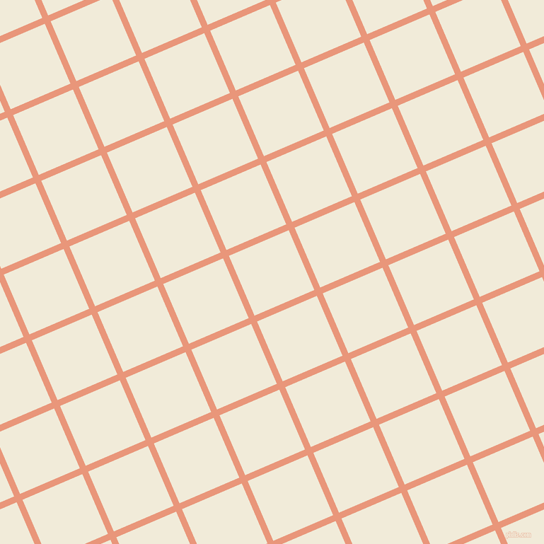 23/113 degree angle diagonal checkered chequered lines, 9 pixel line width, 92 pixel square size, Dark Salmon and Orchid White plaid checkered seamless tileable