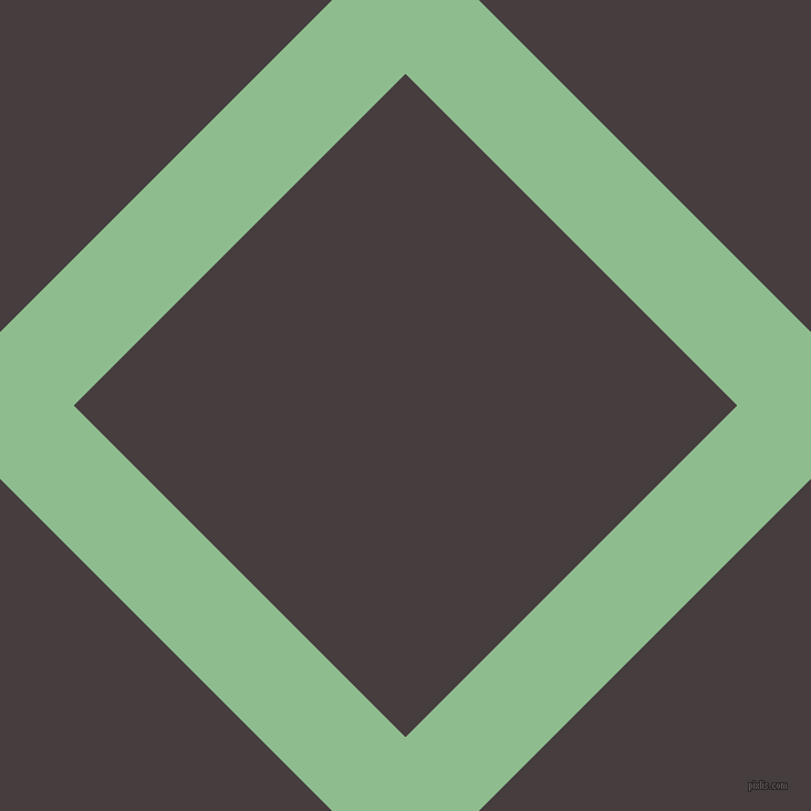 45/135 degree angle diagonal checkered chequered lines, 94 pixel line width, 424 pixel square size, Dark Sea Green and Jon plaid checkered seamless tileable