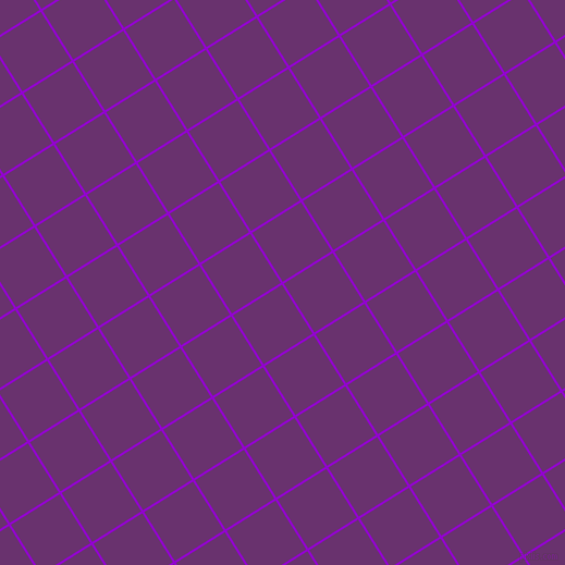 32/122 degree angle diagonal checkered chequered lines, 2 pixel line width, 53 pixel square size, Dark Violet and Seance plaid checkered seamless tileable