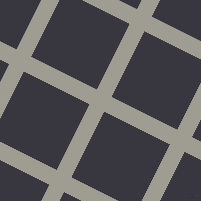 63/153 degree angle diagonal checkered chequered lines, 66 pixel line width, 293 pixel square size, Dawn and Black Marlin plaid checkered seamless tileable