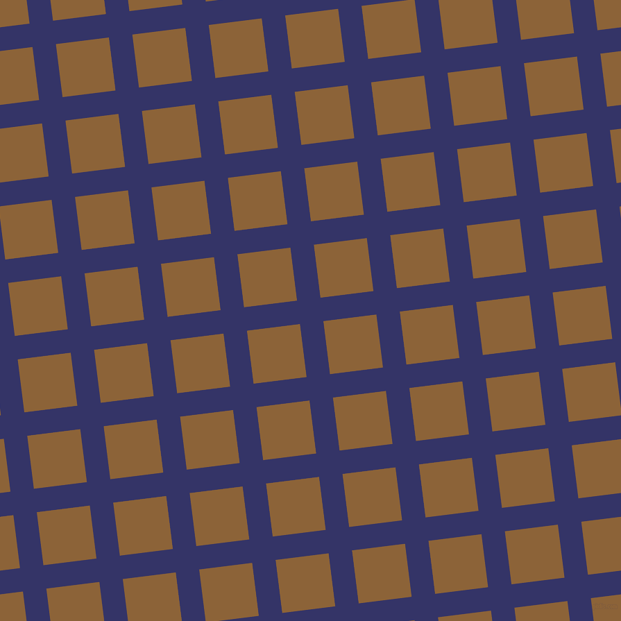 7/97 degree angle diagonal checkered chequered lines, 34 pixel line width, 77 pixel square size, Deep Koamaru and McKenzie plaid checkered seamless tileable