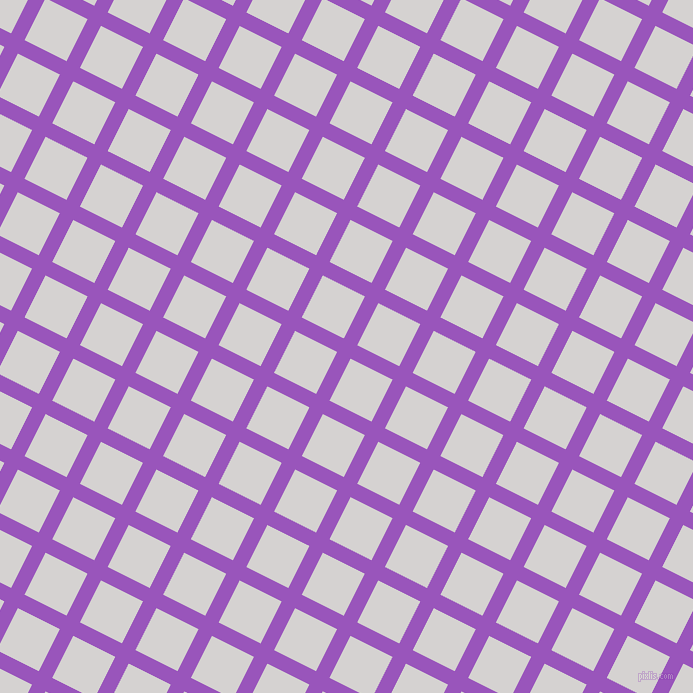 63/153 degree angle diagonal checkered chequered lines, 15 pixel lines width, 47 pixel square size, Deep Lilac and Mercury plaid checkered seamless tileable
