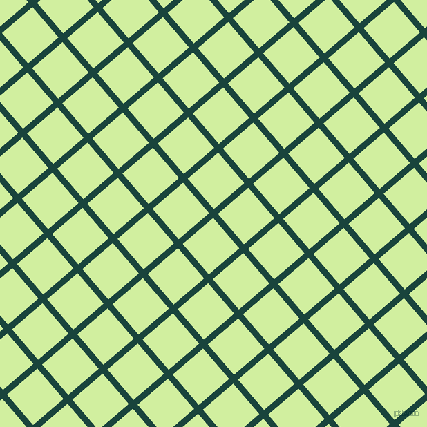 41/131 degree angle diagonal checkered chequered lines, 9 pixel line width, 58 pixel square size, Deep Teal and Reef plaid checkered seamless tileable
