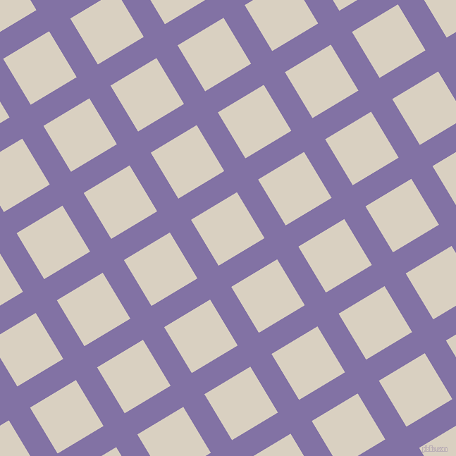 31/121 degree angle diagonal checkered chequered lines, 35 pixel lines width, 76 pixel square size, Deluge and Blanc plaid checkered seamless tileable