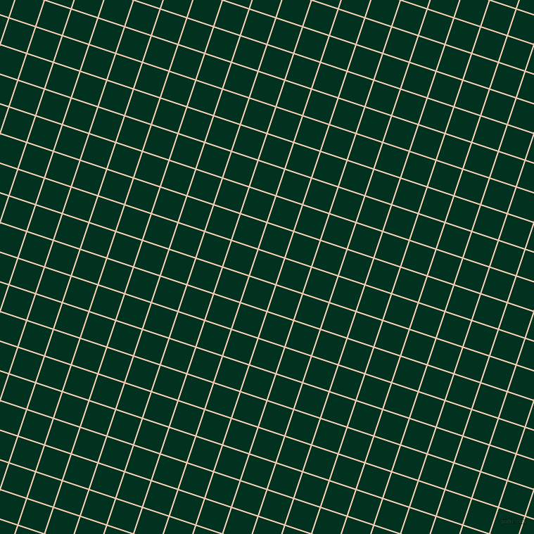72/162 degree angle diagonal checkered chequered lines, 2 pixel line width, 38 pixel square size, Desert Sand and Dark Green plaid checkered seamless tileable