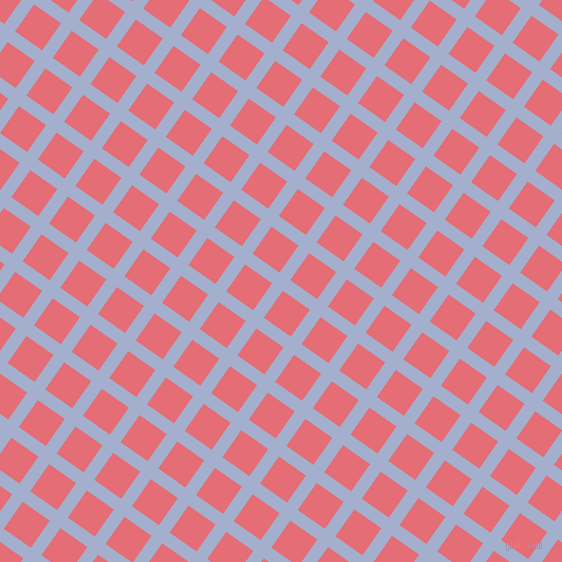 55/145 degree angle diagonal checkered chequered lines, 13 pixel lines width, 33 pixel square size, Echo Blue and Froly plaid checkered seamless tileable