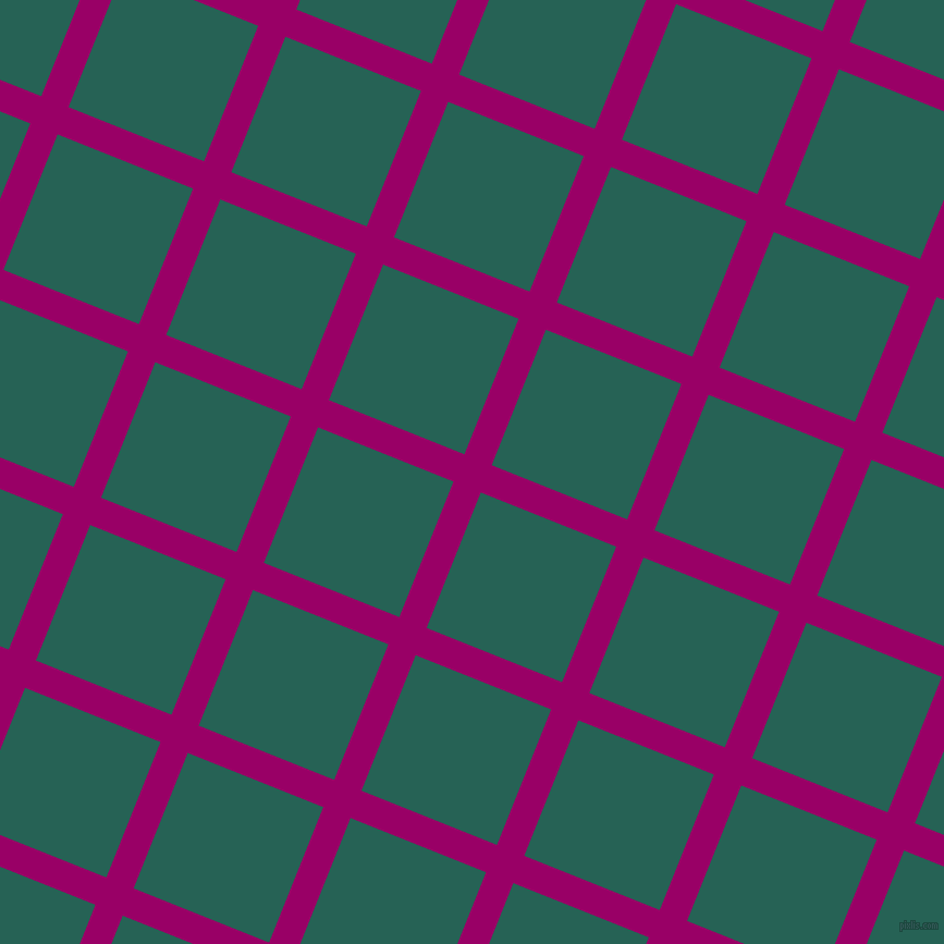 68/158 degree angle diagonal checkered chequered lines, 27 pixel line width, 134 pixel square size, Eggplant and Eden plaid checkered seamless tileable