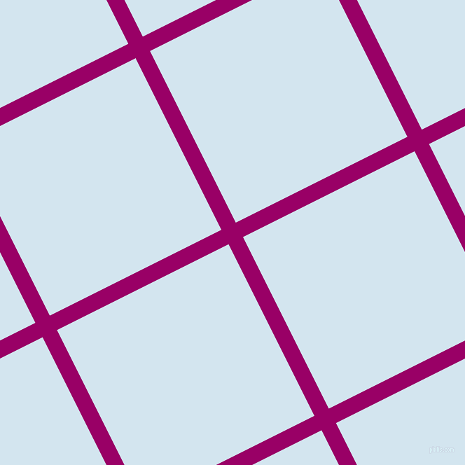 27/117 degree angle diagonal checkered chequered lines, 23 pixel lines width, 274 pixel square size, Eggplant and Pattens Blue plaid checkered seamless tileable