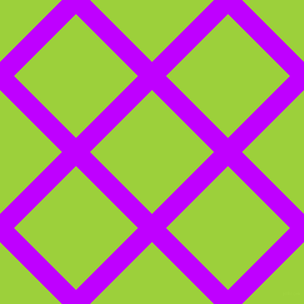 45/135 degree angle diagonal checkered chequered lines, 40 pixel lines width, 176 pixel square size, Electric Purple and Atlantis plaid checkered seamless tileable
