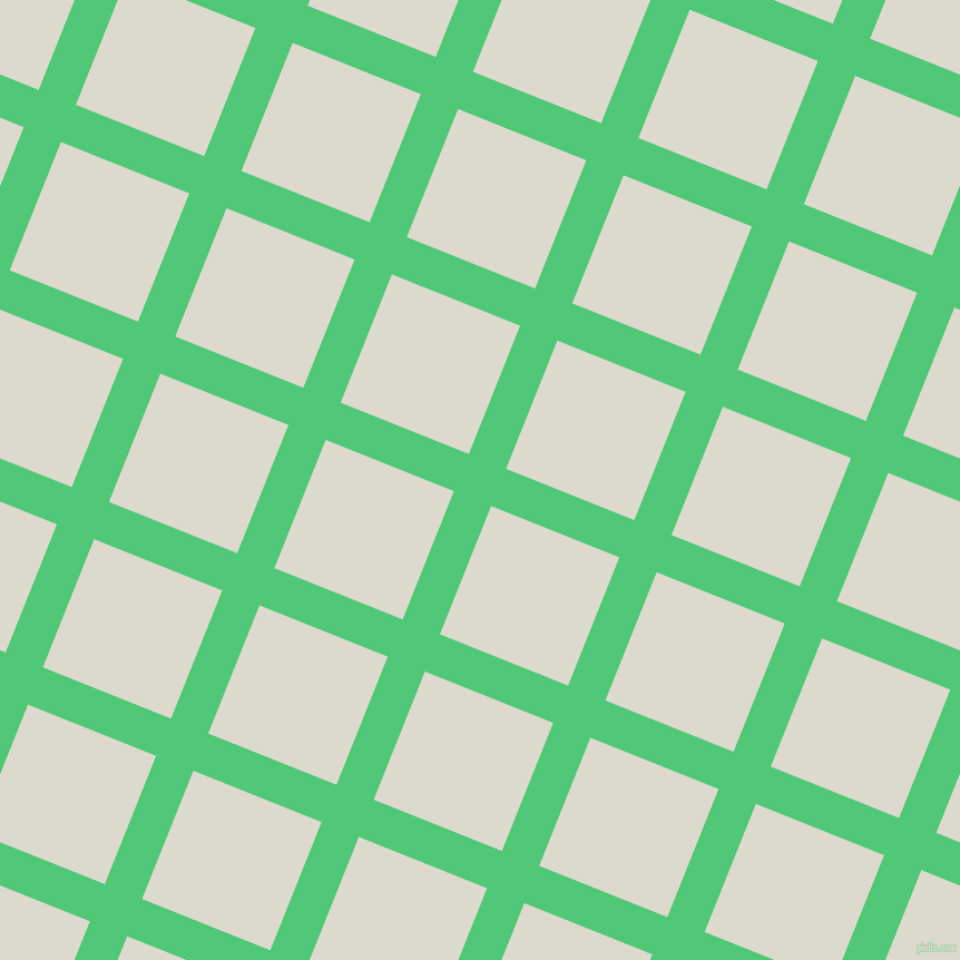 68/158 degree angle diagonal checkered chequered lines, 36 pixel lines width, 124 pixel square size, Emerald and Milk White plaid checkered seamless tileable