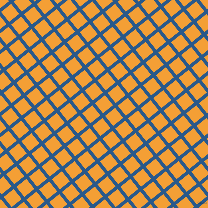 39/129 degree angle diagonal checkered chequered lines, 12 pixel line width, 45 pixel square size, Endeavour and Yellow Sea plaid checkered seamless tileable