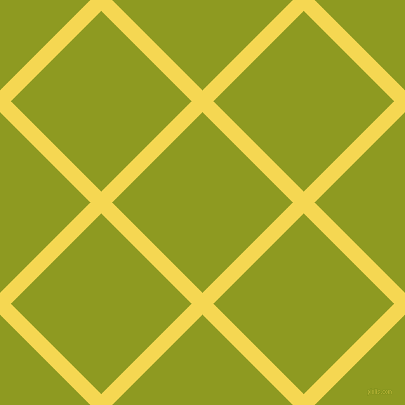 45/135 degree angle diagonal checkered chequered lines, 22 pixel line width, 182 pixel square size, Energy Yellow and Citron plaid checkered seamless tileable