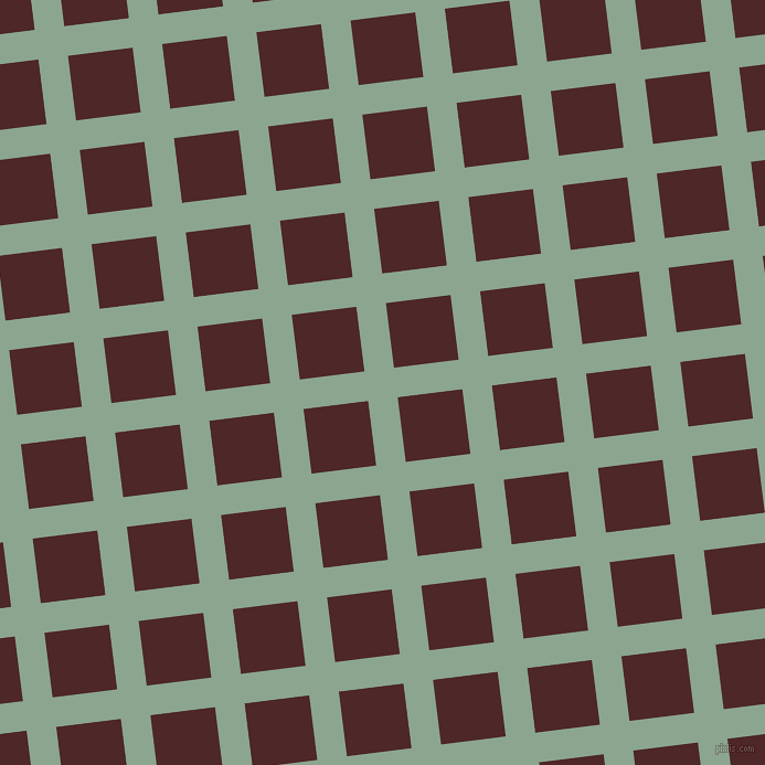 7/97 degree angle diagonal checkered chequered lines, 27 pixel line width, 59 pixel square size, Envy and Volcano plaid checkered seamless tileable