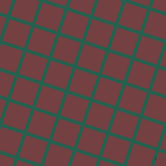 72/162 degree angle diagonal checkered chequered lines, 12 pixel line width, 79 pixel square size, Evening Sea and Tosca plaid checkered seamless tileable