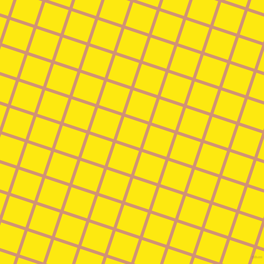 72/162 degree angle diagonal checkered chequered lines, 11 pixel line width, 86 pixel square size, Feldspar and Lemon plaid checkered seamless tileable