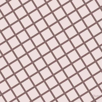 32/122 degree angle diagonal checkered chequered lines, 7 pixel line width, 36 pixel square size, Ferra and Soft Peach plaid checkered seamless tileable