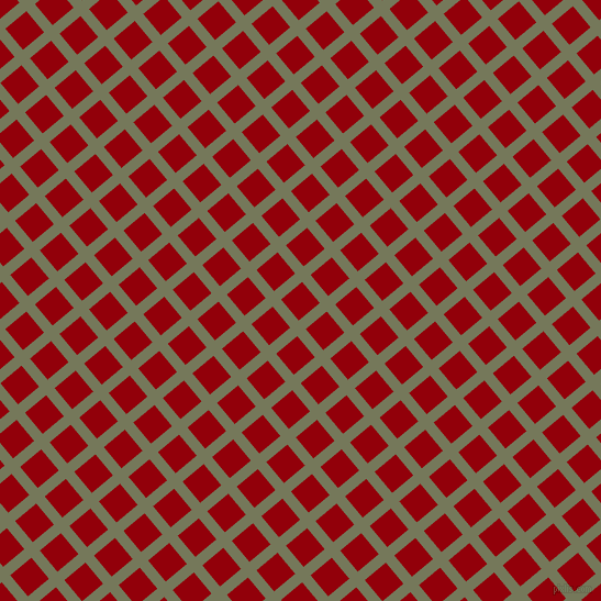 40/130 degree angle diagonal checkered chequered lines, 10 pixel line width, 25 pixel square size, Finch and Sangria plaid checkered seamless tileable