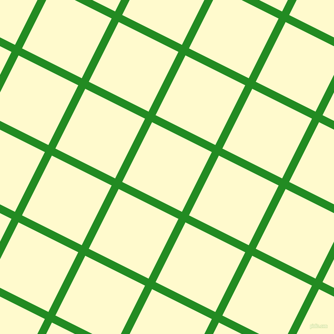 63/153 degree angle diagonal checkered chequered lines, 16 pixel line width, 136 pixel square size, Forest Green and Lemon Chiffon plaid checkered seamless tileable