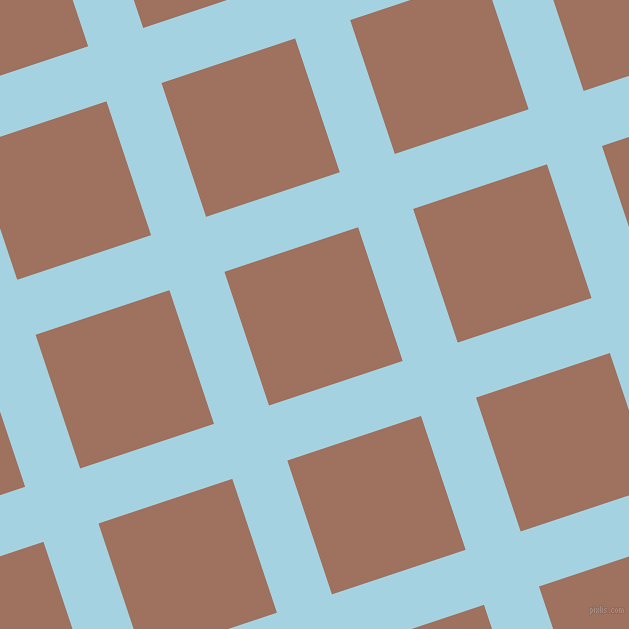 18/108 degree angle diagonal checkered chequered lines, 58 pixel lines width, 141 pixel square size, French Pass and Toast plaid checkered seamless tileable