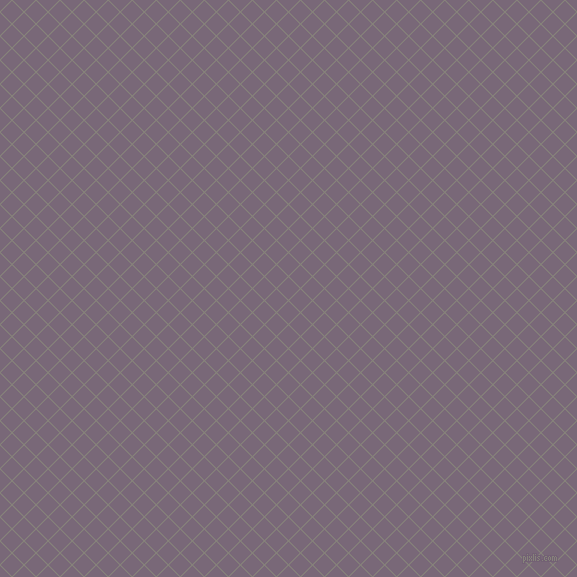 45/135 degree angle diagonal checkered chequered lines, 1 pixel line width, 16 pixel square size, Friar Grey and Old Lavender plaid checkered seamless tileable