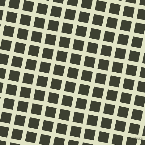 79/169 degree angle diagonal checkered chequered lines, 13 pixel lines width, 33 pixel square size, Frost and Scrub plaid checkered seamless tileable