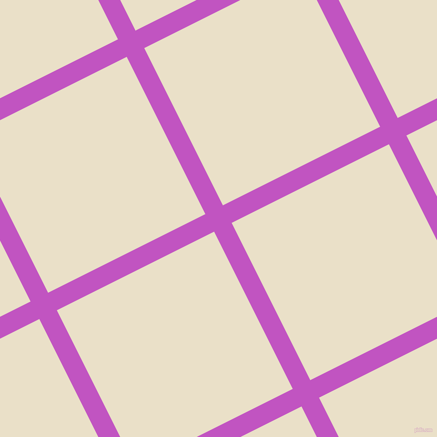 27/117 degree angle diagonal checkered chequered lines, 39 pixel line width, 350 pixel square size, Fuchsia and Pearl Lusta plaid checkered seamless tileable