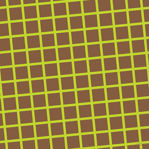 6/96 degree angle diagonal checkered chequered lines, 8 pixel lines width, 41 pixel square size, Fuego and Potters Clay plaid checkered seamless tileable
