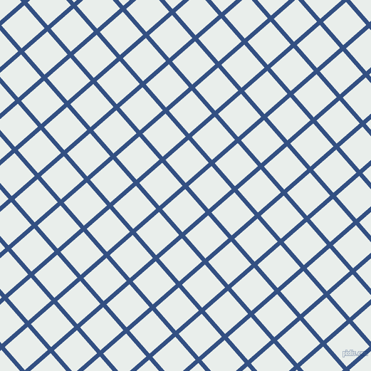 41/131 degree angle diagonal checkered chequered lines, 6 pixel lines width, 43 pixel square sizeFun Blue and Lily White plaid checkered seamless tileable