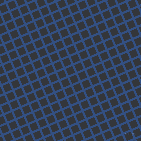 23/113 degree angle diagonal checkered chequered lines, 7 pixel line width, 23 pixel square size, Fun Blue and Shark plaid checkered seamless tileable