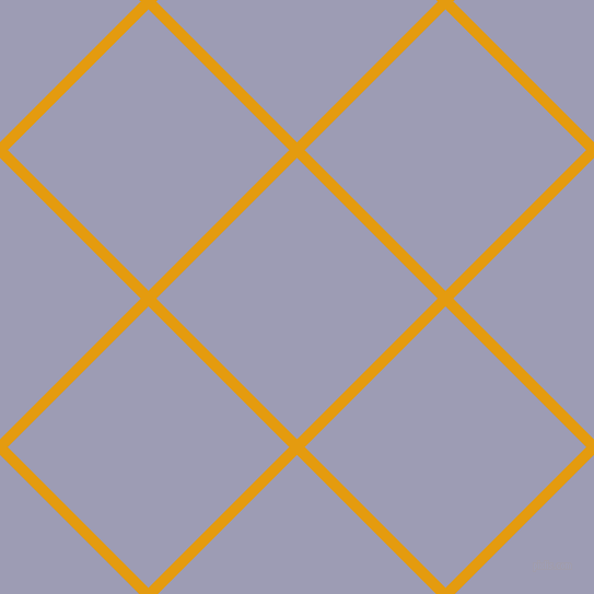 45/135 degree angle diagonal checkered chequered lines, 10 pixel line width, 182 pixel square size, Gamboge and Logan plaid checkered seamless tileable