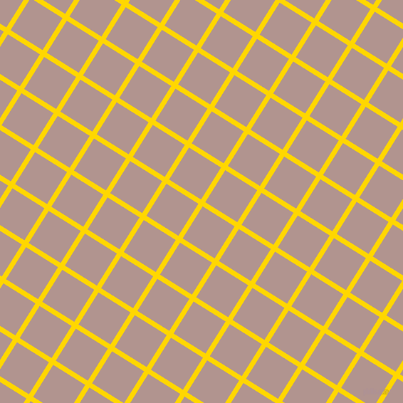 58/148 degree angle diagonal checkered chequered lines, 7 pixel lines width, 53 pixel square size, Gold and Thatch plaid checkered seamless tileable