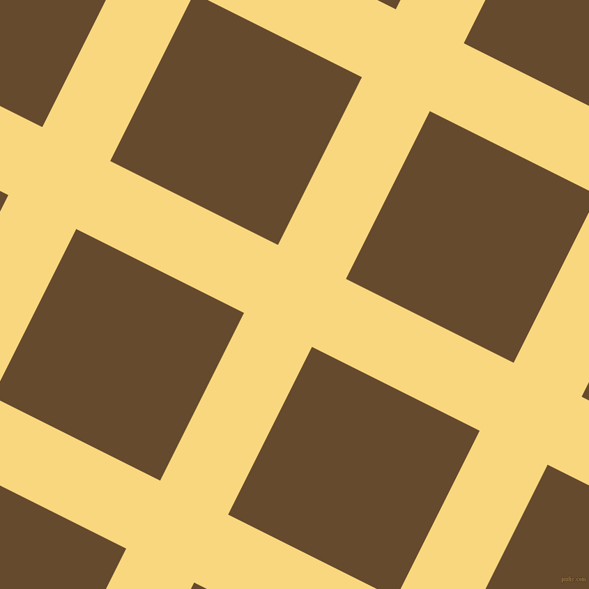 63/153 degree angle diagonal checkered chequered lines, 109 pixel lines width, 269 pixel square size, Golden Glow and Dallas plaid checkered seamless tileable