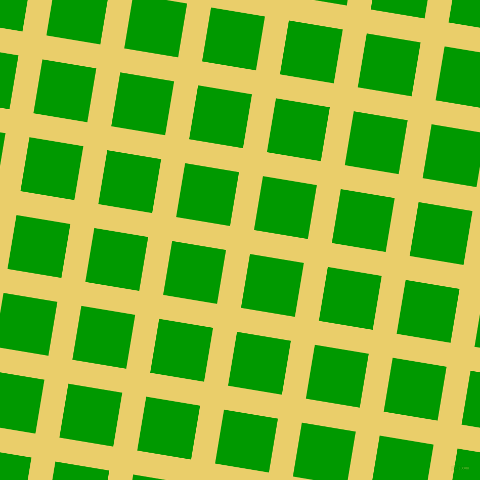 81/171 degree angle diagonal checkered chequered lines, 48 pixel lines width, 108 pixel square size, Golden Sand and Islamic Green plaid checkered seamless tileable