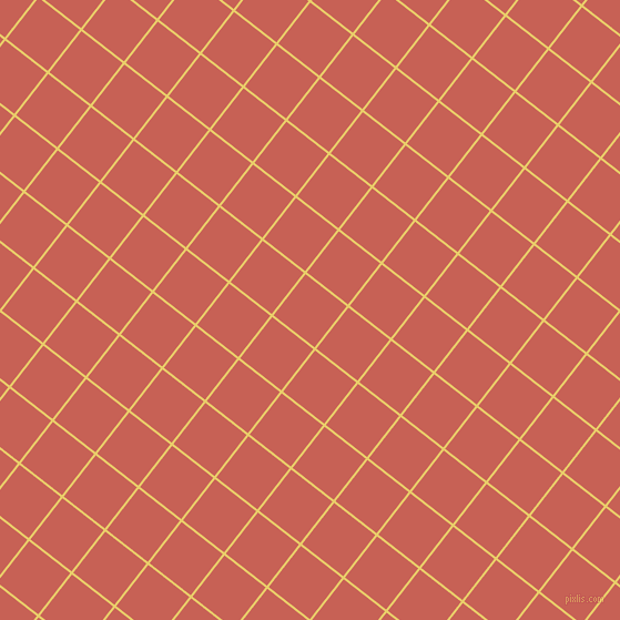 52/142 degree angle diagonal checkered chequered lines, 2 pixel line width, 47 pixel square size, Golden Sand and Sunglo plaid checkered seamless tileable