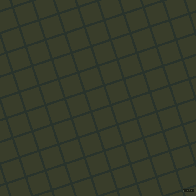 18/108 degree angle diagonal checkered chequered lines, 7 pixel line width, 59 pixel square size, Gordons Green and Green Kelp plaid checkered seamless tileable