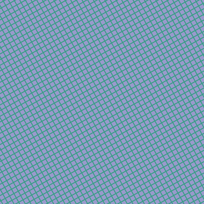 29/119 degree angle diagonal checkered chequered lines, 4 pixel line width, 17 pixel square size, Gossamer and Blue Bell plaid checkered seamless tileable