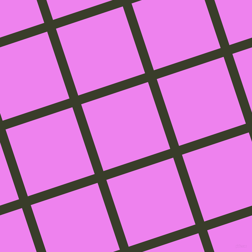 18/108 degree angle diagonal checkered chequered lines, 30 pixel line width, 229 pixel square size, Green Kelp and Violet plaid checkered seamless tileable