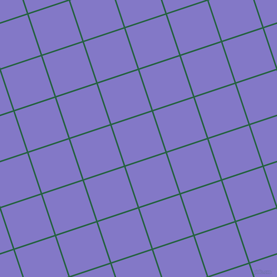 18/108 degree angle diagonal checkered chequered lines, 3 pixel lines width, 86 pixel square size, Green Pea and Moody Blue plaid checkered seamless tileable
