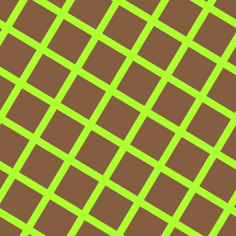59/149 degree angle diagonal checkered chequered lines, 24 pixel lines width, 108 pixel square size, Green Yellow and Dark Wood plaid checkered seamless tileable
