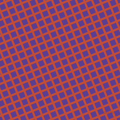 22/112 degree angle diagonal checkered chequered lines, 7 pixel line width, 18 pixel square size, Grenadier and Daisy Bush plaid checkered seamless tileable