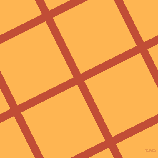 27/117 degree angle diagonal checkered chequered lines, 27 pixel lines width, 213 pixel square size, Grenadier and Koromiko plaid checkered seamless tileable