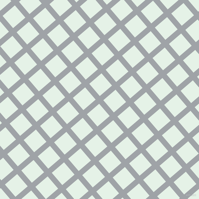 41/131 degree angle diagonal checkered chequered lines, 19 pixel line width, 56 pixel square size, Grey Chateau and Polar plaid checkered seamless tileable