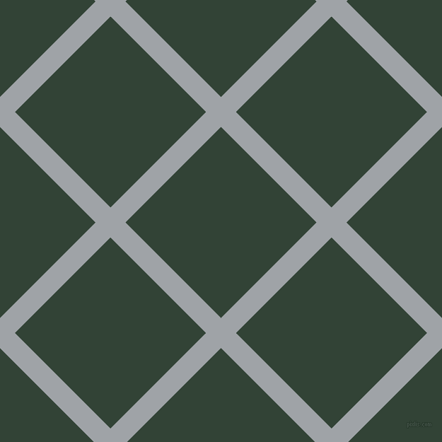 45/135 degree angle diagonal checkered chequered lines, 30 pixel lines width, 191 pixel square size, Grey Chateau and Timber Green plaid checkered seamless tileable