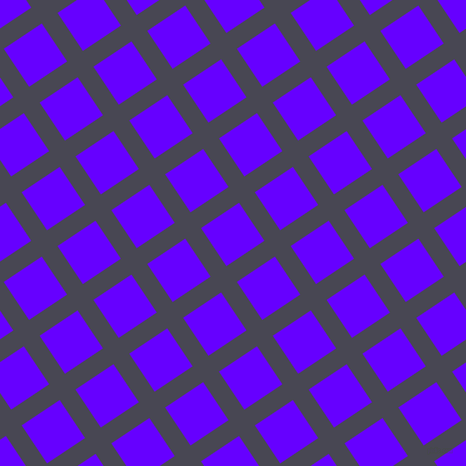 34/124 degree angle diagonal checkered chequered lines, 27 pixel lines width, 65 pixel square size, Gun Powder and Electric Indigo plaid checkered seamless tileable