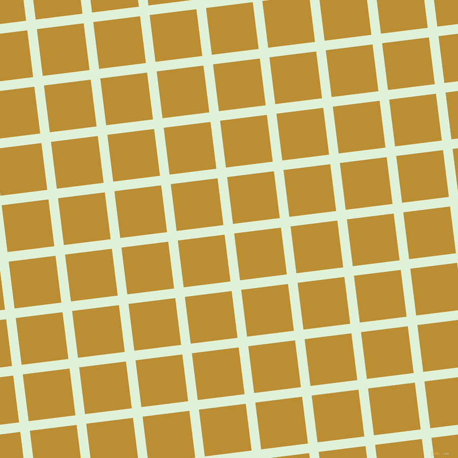 7/97 degree angle diagonal checkered chequered lines, 19 pixel lines width, 93 pixel square size, Hint Of Green and Hokey Pokey plaid checkered seamless tileable
