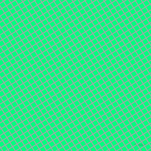 32/122 degree angle diagonal checkered chequered lines, 3 pixel lines width, 14 pixel square size, Hit Grey and Spring Green plaid checkered seamless tileable