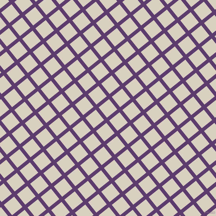 39/129 degree angle diagonal checkered chequered lines, 12 pixel lines width, 44 pixel square size, Honey Flower and Blanc plaid checkered seamless tileable